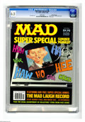 "Modern Age (1980-Present):Humor, Mad Special #39 Gaines File pedigree (EC, 1982) CGC FN+ 6.5 Whitepages. Includes bonus ""Mad Laugh Record."" Photo cover. Don..."