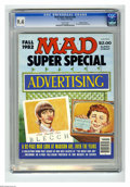 Modern Age (1980-Present):Humor, Mad Special #40 Gaines File pedigree (EC, 1982) CGC NM 9.4 Whitepages. All advertising satire issue. This is currently the ...