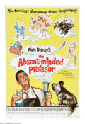 """Movie Posters:Comedy, The Absent-Minded Professor (Buena Vista, R-1974). One Sheet (27"""" X41""""). Professor Ned Brainard (Fred MacMurray) accidently..."""