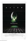 "Movie Posters:Science Fiction, Alien (20th Century Fox, 1979). One Sheet (27"" X 41""). A closeencounter of the third kind becomes an exercise in terror of ..."