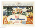 """Movie Posters:Elvis Presley, Blue Hawaii (Paramount, 1961). Half Sheet (22"""" X 28""""). Who saysrock 'n' roll overturned the beloved music of the previous g..."""