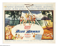 "Blue Hawaii (Paramount, 1961). Half Sheet (22"" X 28""). Who says rock 'n' roll overturned the beloved music of..."