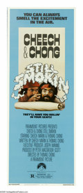 "Movie Posters:Comedy, Cheech and Chong: Still Smokin' (Paramount, 1983). Insert (14"" X36""). In this fourth Cheech and Chong adventure, the duo ar..."