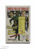 """Movie Posters:Horror, Creature with the Atom Brain (Columbia, 1955). One Sheet (27"""" X41""""). """"It would answer the riddle, wouldn't it? Remote-contr..."""