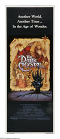 "Movie Posters:Fantasy, The Dark Crystal (Universal, 1982). Insert (14"" X 36""). In afantasy world concocted by Jim Henson, the evil Skeksis have ta..."