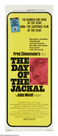 "Movie Posters:Thriller, The Day of the Jackal (Universal, 1973). Insert (14"" X 36""). This tense political thriller follows an assassin known only as..."