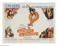 "Movie Posters:Adventure, Five Weeks in a Balloon (20th Century Fox, 1962). Half Sheet (22"" X28""). This adventure/comedy is directed by the creator o..."