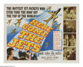 "Movie Posters:War, Here Come the Jets (20th Century Fox, 1959). Half Sheet (22"" X28""). This action film centers on the creation and testing of..."