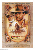 "Movie Posters:Action, Indiana Jones and the Last Crusade (Paramount, 1989). One Sheet(27"" X 41""). In the third chapter of the Indiana Jones saga,..."