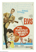 "Movie Posters:Elvis Presley, It Happened at the World's Fair (MGM, 1963). One Sheet (27"" X 41"").At Seattle's 1962 World Fair, Elvis Presley romances a n..."