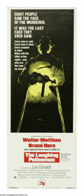 """Movie Posters:Crime, The Laughing Policeman (20th Century Fox, 1973). Insert (14"""" X 36""""). Walter Matthau and Bruce Dern are police detectives inv..."""