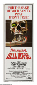 """The Legend Of Hell House (Twentieth Century Fox, 1973). Insert (14"""" X 36""""). """"The house tried to kill me..."""
