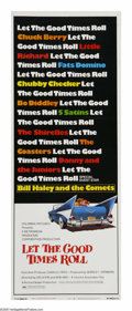 "Movie Posters:Documentary, Let the Good Times Roll (Columbia, 1973). Insert (14"" X 36""). This documentary combined vintage footage and a revival concer..."