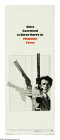 "Movie Posters:Action, Magnum Force (Warner Brothers, 1973). Insert (14"" X 36""). ClintEastwood returns as detective Harry Callahan in this, his se..."
