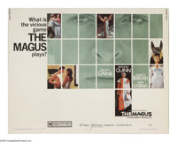 "The Magus (20th Century Fox, 1968). Half Sheet (22"" X 28""). Michael Caine, Anthony Quinn and Candice Bergen st..."