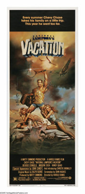 """National Lampoon's Vacation (Warner Brothers, 1983). Insert (14"""" X 36""""). """"Why aren't we flying? Because g..."""