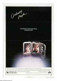 "Ordinary People (Paramount, 1980). One Sheet (27"" X 41""). ""So I was crying. Because I don't know if I lov..."