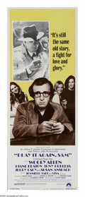 "Movie Posters:Comedy, Play it Again, Sam (Paramount, 1972). Insert (14"" X 36""). ""I neversaw a dame yet that didn't understand a good slap in the ..."