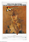 "Movie Posters:Adventure, Raiders of the Lost Ark (Paramount, 1981). One Sheet (27"" X 41"").Harrison Ford stars as Indiana Jones, the adventuresome ar..."