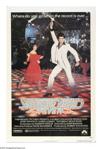"""Saturday Night Fever (Paramount, 1977). One Sheet (27"""" X 41""""). The soundtrack for this film sold over twenty m..."""