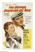 "Movie Posters:Comedy, The Skipper Surprised His Wife (MGM, 1950). One Sheet (27"" X 41"").Vincente Minnelli originally intended to direct this film..."