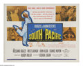 "Movie Posters:Musical, South Pacific (20th Century Fox, R-1964). Half Sheet (22"" X 28"").In this musical classic, Mitzi Gaynor, while stationed ove..."