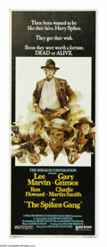 "Movie Posters:Western, The Spikes Gang (United Artists, 1974). Insert (14"" X 36""). Threeboys (Gary Grimes, Ron Howard and Charles Martin Smith) in..."