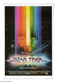 "Star Trek: The Motion Picture (Paramount, 1979). One Sheet (27"" X 41"") Advance. A living entity in the form of..."
