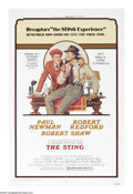 "Movie Posters:Crime, The Sting (Universal, R-1977). One Sheet (27"" X 41""). Four years after the tremendously successful ""Butch Cassidy and the Su..."