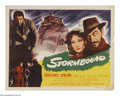 """Movie Posters:Drama, Stormbound (Republic, 1951). Half Sheet (22"""" X 28""""). Reporter Constance Dowling is assigned to get a story on bandit Aldo Si..."""