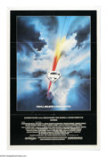 "Movie Posters:Fantasy, Superman (Warner Brothers, 1978). One Sheet (27"" X 41""). DirectorRichard Donner's blockbuster film, starring Christopher Re..."