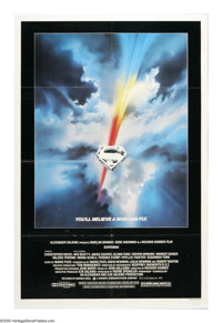 "Superman (Warner Brothers, 1978). One Sheet (27"" X 41""). Director Richard Donner's blockbuster film, starring..."