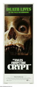 "Movie Posters:Horror, Tales From the Crypt (Cinerama Releasing, 1972). Insert (14"" X 36""). Five tourists who are lost in a crypt come upon the che..."