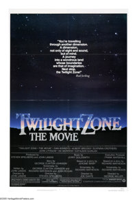 """Twilight Zone: The Movie (Warner Brothers, 1983). One Sheet (27"""" X 41""""). Four stories from the Twilight Zone a..."""