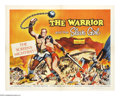 "Movie Posters:Adventure, The Warrior and the Slave Girl (Columbia, 1958). Half Sheet (22"" X28"") Style A. Asclepio (Georges Marchal) and Zahar (Mara ..."