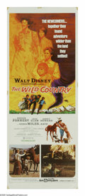 "Movie Posters:Adventure, The Wild Country (Buena Vista, 1971). Insert (14"" X 36""). TheTanner family (Steve Forrest, Vera Miles, Ronny Howard and Cli..."