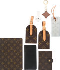 Luxury Accessories:Accessories, Louis Vuitton Set of Eight; Classic Monogram Travel Accessories,Black Epi Agenda and Various Small Accessories. Condition: 3. 6...(Total: 8 Items)