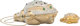 """Judith Leiber Half Bead White Crystal Frog Minaudiere Evening Bag with Pill Box Condition: 1 5"""" Width x 6"""" Hei..."""