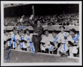 Autographs:Photos, New York Yankees Multi-Signed Photograph....