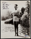 Autographs:Others, Dorothy Lamour Signed Photograph....