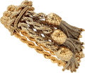 Estate Jewelry:Bracelets, Gold Bracelet, Hammerman Bros.. ...
