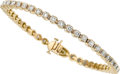 Estate Jewelry:Bracelets, Diamond, Gold Bracelet. ...