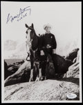 Autographs:Others, Gene Autry Signed Photograph....