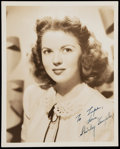 Autographs:Others, Shirley Temple Signed Photograph....