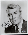 Autographs:Others, Jimmy Stewart Signed Photograph....