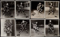 Hockey Collectibles:Photos, Chicago Blackhawks Photographs by George Burke (8)....