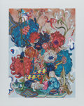 Fine Art - Work on Paper:Print, James Jean (20th Century). Masquerade, 2016. Ink jet print. 16-5/8 x 12-1/2 inches (42.2 x 31.8 cm) (image). 20 x 16 inc...