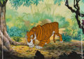 Animation Art:Production Cel, The Jungle Book Shere Khan Production Cel (Walt Disney,1967). ...
