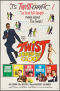"Movie Posters:Rock and Roll, Twist Around the Clock (Columbia, 1961). One Sheet (27"" X 41"").Rock and Roll.. ..."