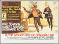 "Movie Posters:Western, Butch Cassidy and the Sundance Kid (20th Century Fox, 1969).British Quad (30"" X 40""). Western.. ..."